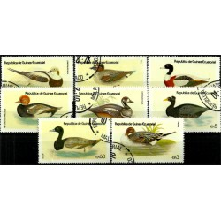 Guinea Ecuatorial. Serie Completa. Aves