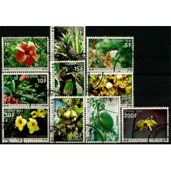 Islas Comores. Serie Completa. Flores