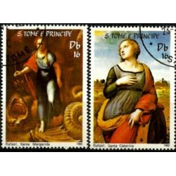 Santo Tomé y Principe. 1983. Serie mini. Rafael