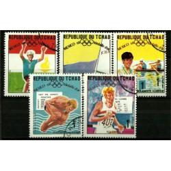 Chad. Serie Completa. Juegos Olímpicos 1968