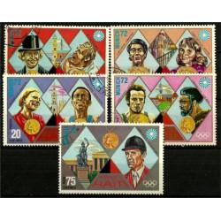 Haití. Serie Completa. Juegos Olímpicos Munich