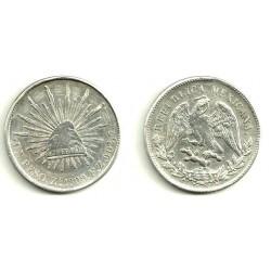 Estados Unidos Mexicanos. 1899FZ. 1 Peso (BC) (Plata)