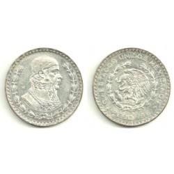 (459) Estados Unidos Mexicanos. 1961. 1 Peso (MBC) (Plata)