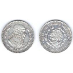 Estados Unidos Mexicanos. 1967. 1 Peso (MBC) (Plata)