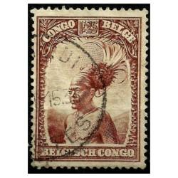 (148) Congo Belga. 1931-37. 1,25 Franc