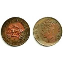 (31) África Oriental. 1952. 1 Shilling (EBC)
