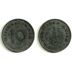 (101) Alemania (III Reich). 1940(A). 10 Pfennig (MBC+)