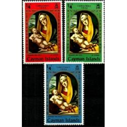 Islas Caimán. 1969. Serie Completa. Navidad