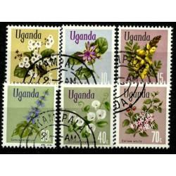 Uganda. 1969. Serie Mini. Flores