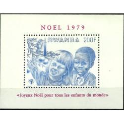 (934) Ruanda. 1979. 200 Francs. Navidad