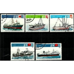 Cuba. 1978. Serie Mini. Flota Pesquera