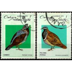 Cuba. 1979. Serie Mini. Pájaros