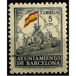 (30) Exposición Internacional de Barcelona. 1941. 5 Céntimos