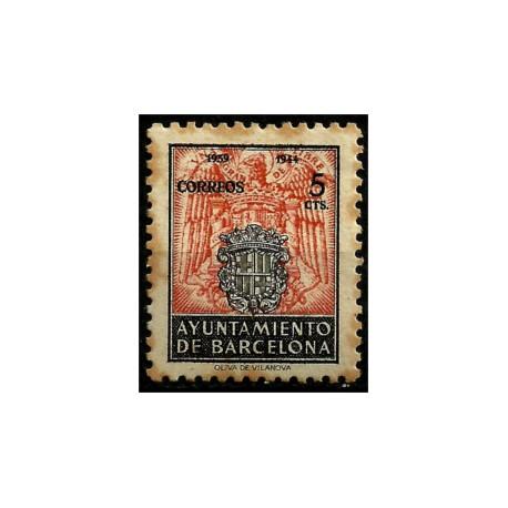 (60) Exposición Internacional de Barcelona. 1944. 5 Céntimos