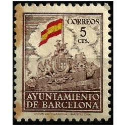 (29) Exposición Internacional de Barcelona. 1941. 5 Céntimos