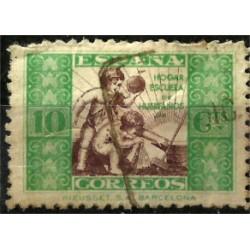 Hogar Escuela de Huerfanos. 1934. 10 Céntimos