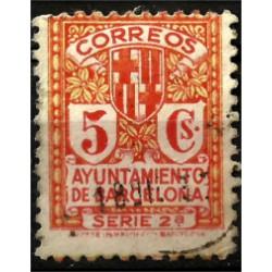 (10) Exposición Internacional de Barcelona. 1932-1935. 5 Céntimos