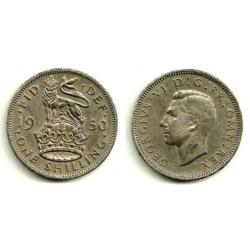 (904) Gran Bretaña. 1950. 1 Shilling (MBC)