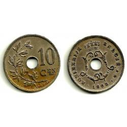 (49) Bélgica. 1902. 10 Centimes (MBC)