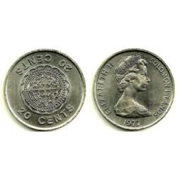 (5) Islas Salomón. 1977. 50 Cents (SC)