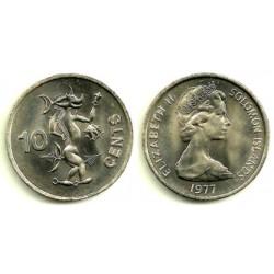 (4) Islas Salomón. 1977. 10 Cents (SC)