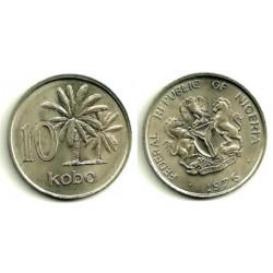 (10.1) Nigeria. 1976. 10 Kobo (SC)