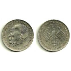 (124) Alemania. 1969(G). 2 Mark (MBC)