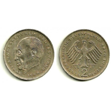 (124) Alemania. 1978(F). 2 Mark (MBC)