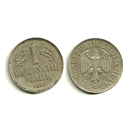 (110) Alemania. 1961(D). 1 Mark (MBC)