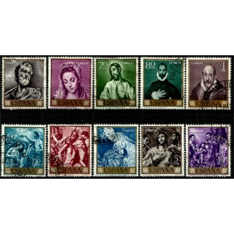 (1330 a 1339) 1961. Serie Completa. El Greco