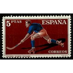 (1315) 1960. 5 Pesetas. Deportes. Hockey