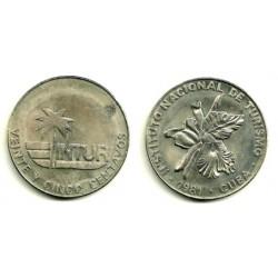 (417) Cuba. 1981. 25 Centavos (SC)