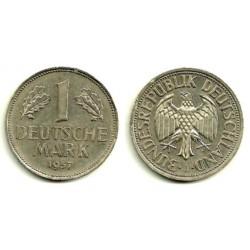 (110) Alemania. 1957(J). 1 Mark (MBC+)