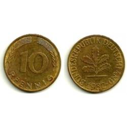 (110) Alemania. 1982(G). 10 Pfennig (MBC)