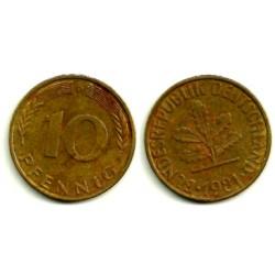 (108) Alemania. 1981(D). 10 Pfennig (MBC)