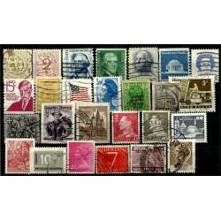 Lote de sellos de varios paises (26 uds)