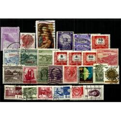 Lote de sellos de varios paises (27 uds)