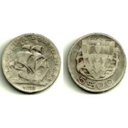(581) Portugal. 1933. 5 Escudos (RC+) (Plata)