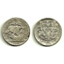 (580) Portugal. 1945. 2½ Escudos (BC) (Plata)