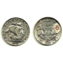 (580) Portugal. 1946. 2½ Escudos (EBC-) (Plata)