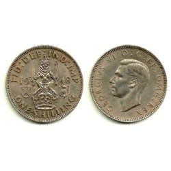 (864) Gran Bretaña. 1948. 1 Shilling (MBC)