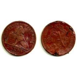 (65) Bélgica. 1912. 2 Centimes (RC)