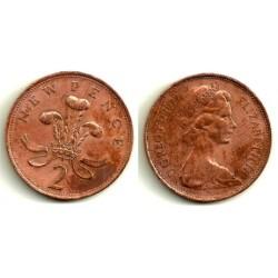 (916) Gran Bretaña. 1977. 2 Pence (BC)
