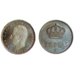 España. 1975*(77). 25 Pesetas (SC)