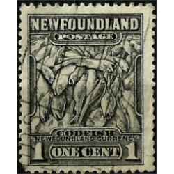 Terranova y Labrador. 1932. 1 Cent. Codfish (Usado)