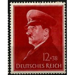 (B190) Imperio Alemán (III Reich). 1941. 12 + 38 Pfennig. 52 Aniv. Hitler (Nuevo)