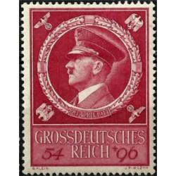 (B271) Imperio Alemán (III Reich). 1944. 54 + 96 Pfennig. 55 Aniv. Hitler (Nuevo)