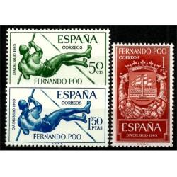 Fernando Poo. 1965. Serie Completa. Día del Sello