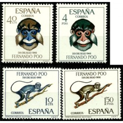 Fernando Poo. 1966. Serie Completa. Día del Sello