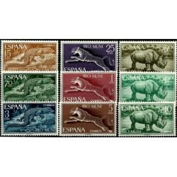 Río Muni. 1964. Serie Completa. Fauna Ecuatorial (Nuevo)